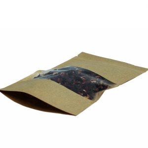 Papirna kesa ziplock 225х135х45 mm kraft (50 kom/pak)