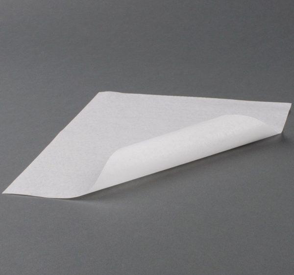 Omot za hamburgere 305×305 mm bijeli, parafin (3000 kom/pak)