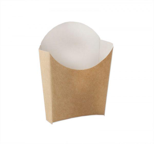 Kutija za pomfrit Ecoline kraft 120g (50 kom/pak)