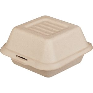 Kutija za hamburger Tambien ECO TF 156x158x88 mm, kraft (50 kom/pak)