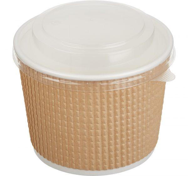 Papirnata posuda sa poklopcem Tambien ECO 520 ml, 50 kom (komplet)