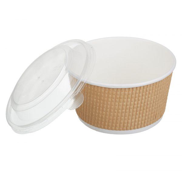 Papirnata posuda sa poklopcem Tambien ECO 720 ml, 50 kom (komplet)