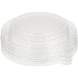 Poklopac PP TaMbien od plastike d=110mm za papirnatu posudu, kupola (50 kom/pak)