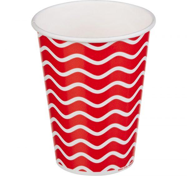 Papirna čaša 1-sl 300 ml d=90 mm Lolipop za hladna pića (50 kom/pak)