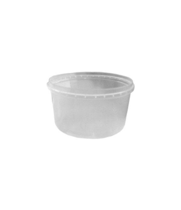 Posuda PP za sos sa poklopcem 250 ml, 50 kom (komplet)