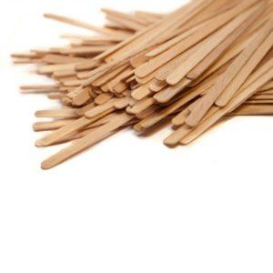 Kašičice za espresso drvene 20,3 cm (1000 kom)