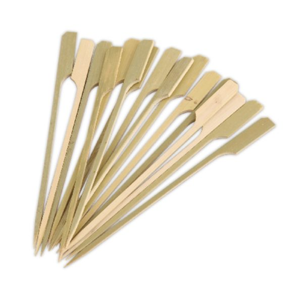 Bockalica za kanapee od bambusa Golf 18 cm (100 kom)
