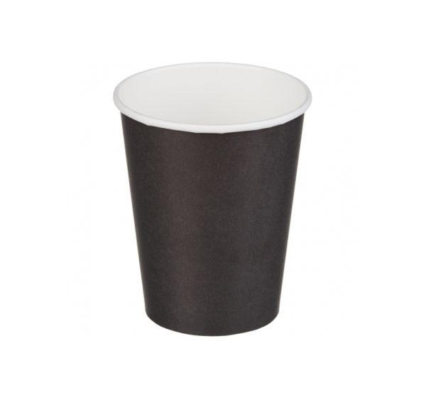 Papirna čaša 1-sl 250 ml d=80 mm crna (50 kom/pak)