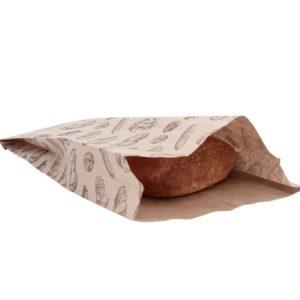 Kesa papirnata sa slikom hleba 200 x 50 x 320 mm (500 kom/pak)