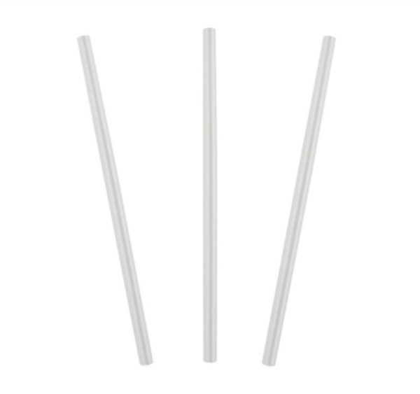 Slamčice za koktel ravne d=8 mm l=240 mm providne 250 kom/pak