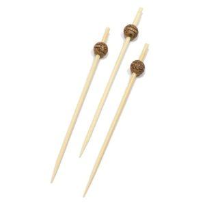 Bockalica od bambusa za kanapee  9 cm  Perla ECO d-8mm 100 kom/pak