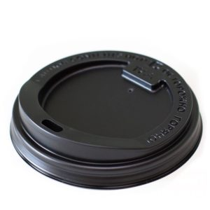 Poklopac PS sa bočnim otvorom d=80 mm crni (100 kom/pak)