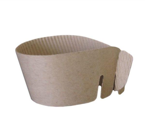 Manžeta  za papirnate čaše univerzalna (500 kom/pak)
