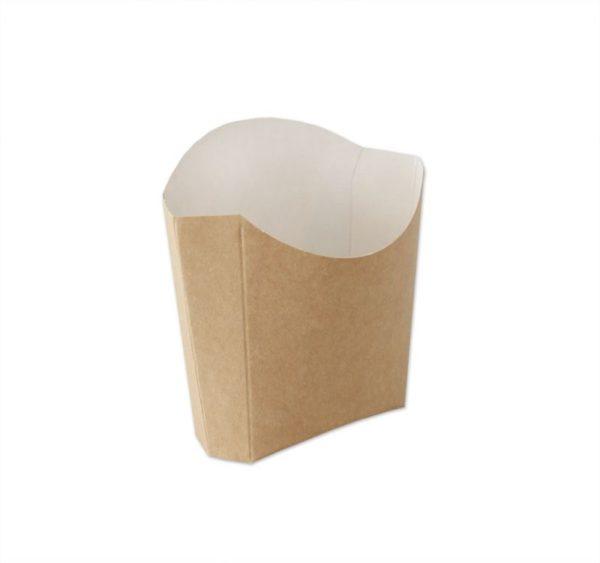 Kutija za pomfrit Ecoline kraft 80g (500 kom/pak)