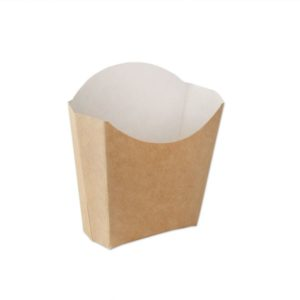 Kutija za pomfrit Ecoline kraft 100g