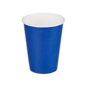 Čaša papirnata jednoslojna 300 (364) ml d=90mm za topla pića plava