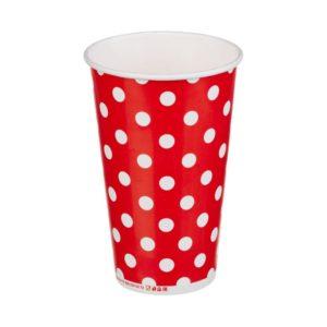 Čaša papirnata jednoslojna 400 (518) ml d=90mm za hladna pića Lollipop