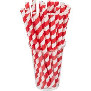 "Slamčice Tambien ECO papirnate za jednokratnu upotrebu 210x6 ""Lollipop"" 100kom/pak"