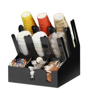 Barski organajzer sa 3 odeljka za čaše i 6 odeljaka za dodaci (7002A-B)