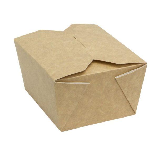Posuda papirnata Fold Box 950 ml 170x135x50 mm, kraft