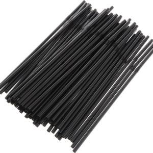 Slamčice za koktel valovite d=5mm l=210mm, 250 kom/pak