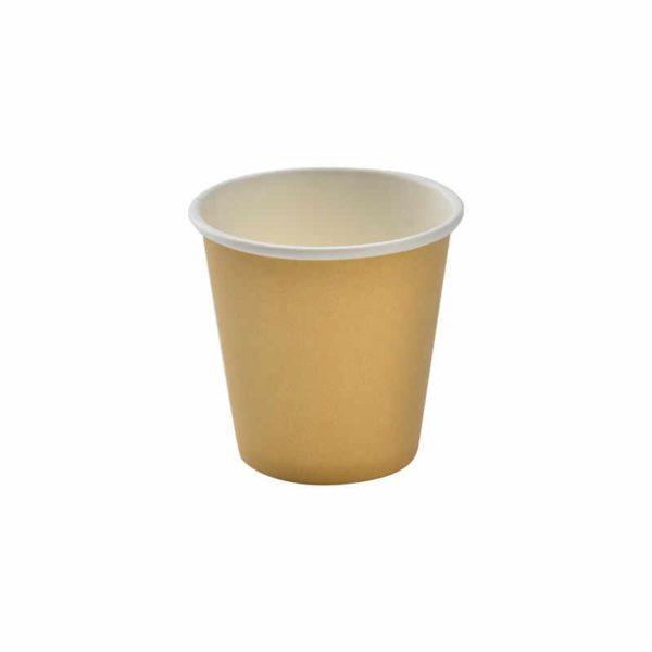 Čaša papirnata 1 sl 85 ml kraft (45 kom/pak)