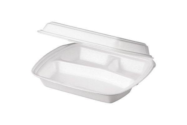 Lunch box 3-delna 250х206х65mm LB-3 (100 kos/pak)