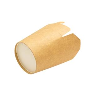 Posuda od papira PKR 138x94x98,4mm 700ml Kraft, okruglo dno