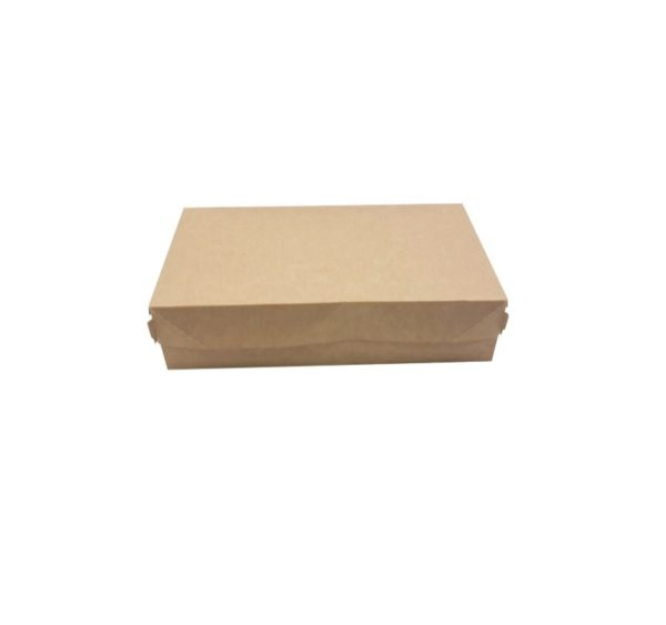 Kartonska kutija za tortu, desert ECO CAKE 230х140х60 mm 1900 ml kraft (300 kom/pak)