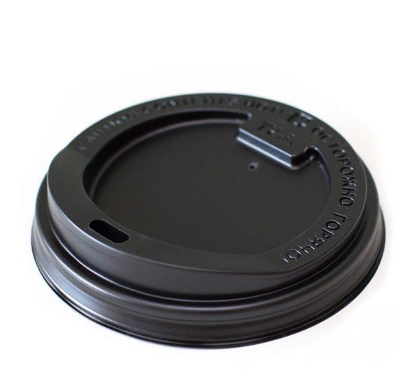 Poklopac PS d=90 mm crni sa otvorom (100 kom/pak)