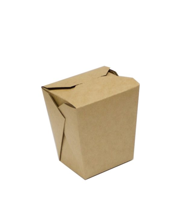 Kartonska kutija za WOK BioBox 700 ml kraft (50 kom/pak)