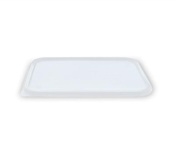 Poklopac za pravougaone posude PP 186 х 132 mm (50 kom/pak)