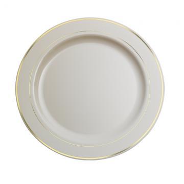Pladenj z zlato obrobo PS d=19 cm (120 kom/pak)