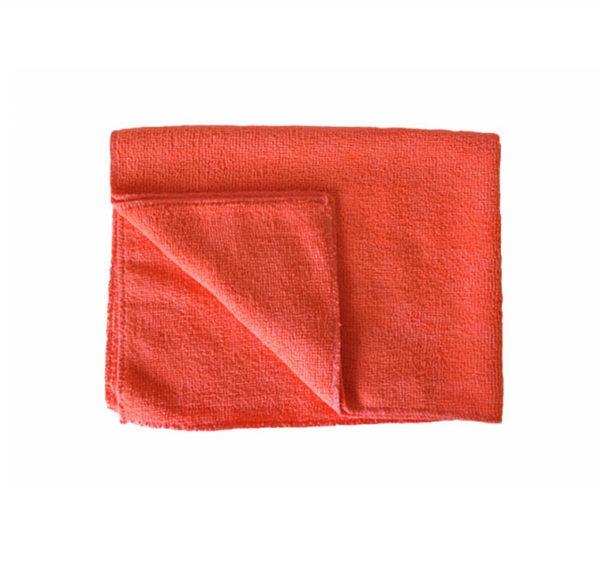 Krpa od mikrofibre 50x80cm za pod crvena