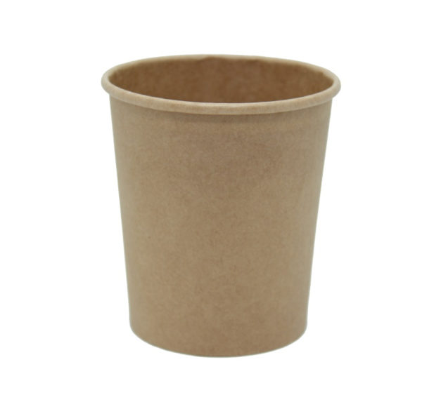 Posuda papirnata za supu Tambien ECO 440 ml d-75 mm, h-100 mm, Kraft (25 kom/pak)
