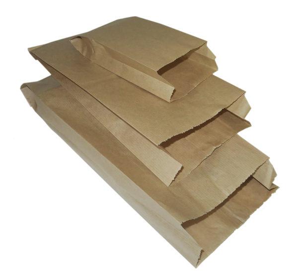 Papirna kesa 140x60x370 mm kraft (2000 kom/pak)