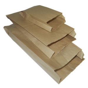 Papirna kesa 175x65x250 mm kraft (3300 kom/pak)