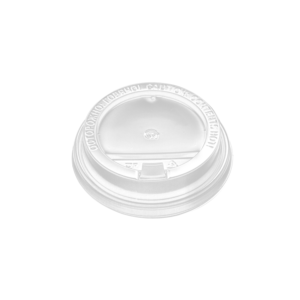 Poklopac sa jezičkom PP, d = 90 mm, bijela