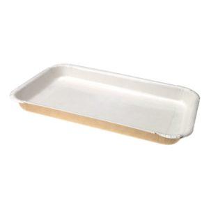 Pladenj papirnati ECO PLATTER 400 ml 220x140x20 mm (sa stranicama)