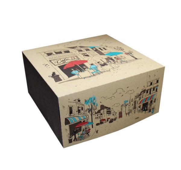 Kutija za tortu 300х300mm 2kg Randevu (100 kom/pak)
