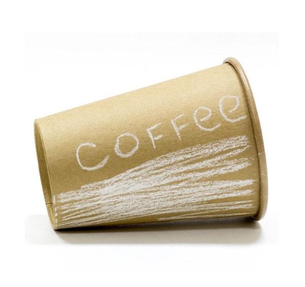 Čaša papirnata 1sl 250 (273) ml d = 80 mm Kraft / Kraft
