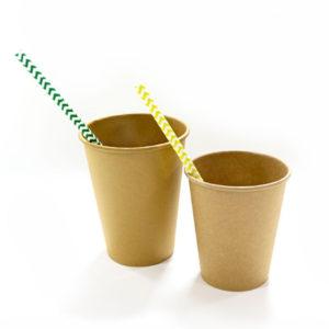 Čaša papirnata 1sl 300 (364) ml d = 90 mm Kraft / Kraft