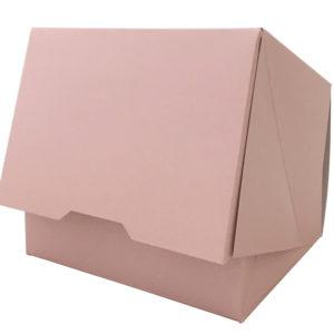 Kutija za desert 140x120x100mm, roze (150 kom/pak)