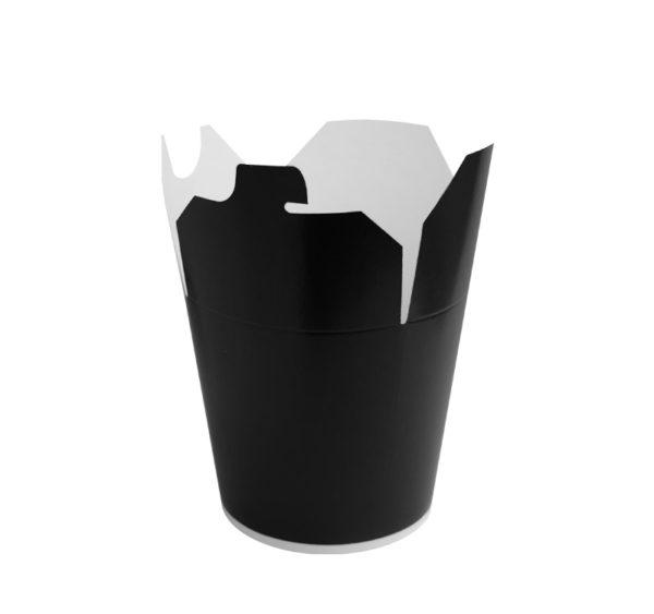 Kartonska kutija za WOK 750 ml crna (50 kom/pak)