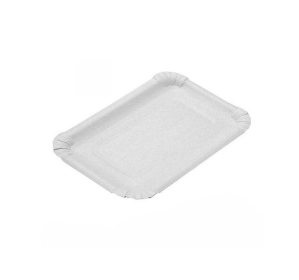 Pladenj papirnati 110 x 170 mm beli (2400 kom/pak)