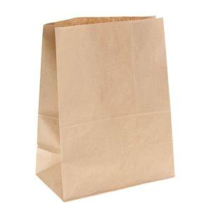 Papirna kesa 120х80х245 mm kraft (500 kom/pak)