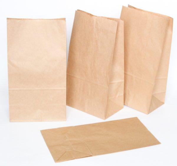 Papirna kesa 180x120x290 mm kraft (600 kom/pak)