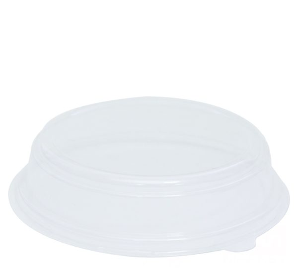 Papirnata posuda sa poklopcem, 750 ml, d = 150 mm, h = 67,5 mm, bijela, 300 kom (komplet)