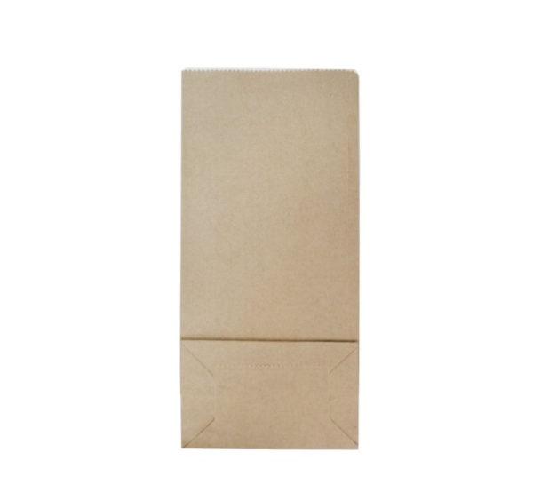 Papirna kesa sa prozorom 80х50х170 mm kraft (600 kom/pak)