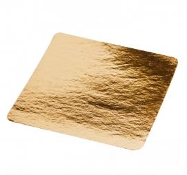 Podmetač od kartona 210×210mm zlato
